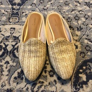 Universal Thread Rattan Mules - size 9